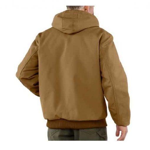 bullet resistant hoodedjacket