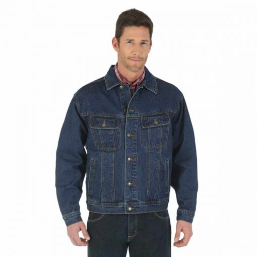 bullet resistant denim jacket