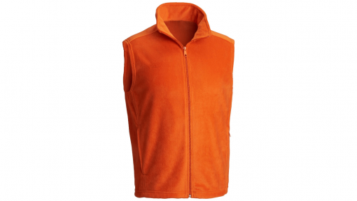 bullet resistant urban fleece orange
