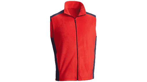 bullet resistant urban fleece red navy