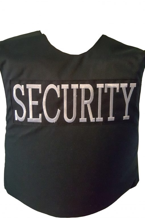 Vector security vest rear