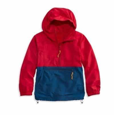 NIJ IIIA Bulletproof Child's Classic Anorak red/blue