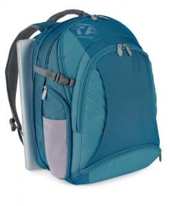 NIJ IIIA Bullet Resistant Computer Keeper Backpack Blue