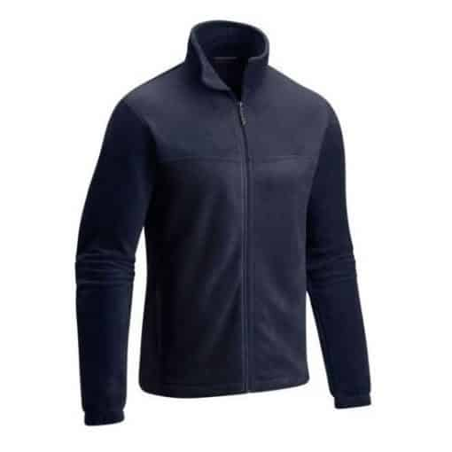 NIJ IIIA Bullet Resistant Dixon Fleece Jacket For Men navy