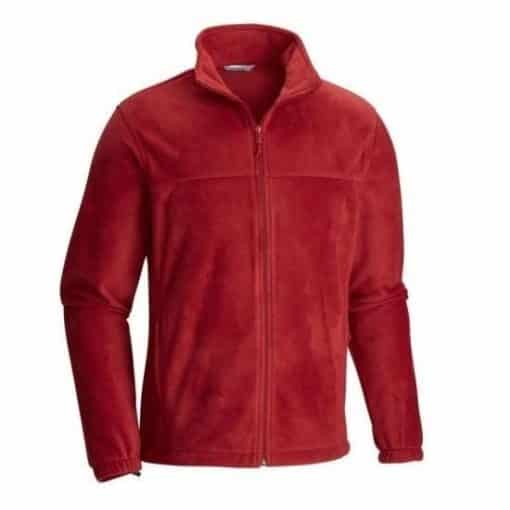 NIJ IIIA Bullet Resistant Dixon Fleece Jacket For Men red