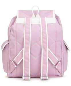 NIJ IIIA Bulletproof Double Duty Day Pack Iced Lilac/White