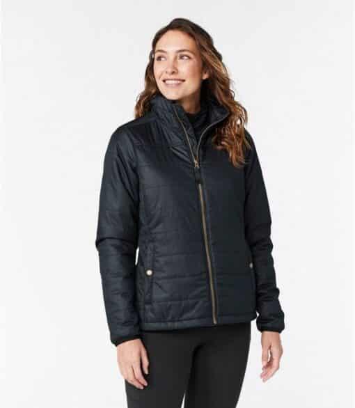 NIJ IIIA Bullet Resistant Woman's Quilted Jacket