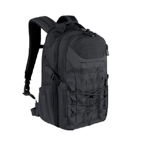 NIJ IIIA Bulletproof Trekker Backpack Black