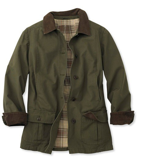 NIJ IIIA Bulletproof Woman's Barn Coat loden