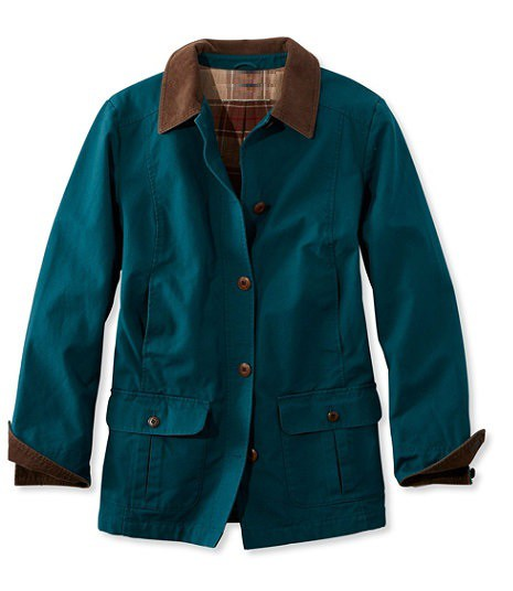 NIJ IIIA Bulletproof Woman's Barn Coat spruce