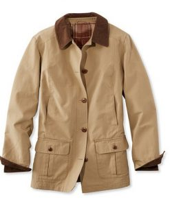 NIJ IIIA Bulletproof Woman's Barn Coat tan