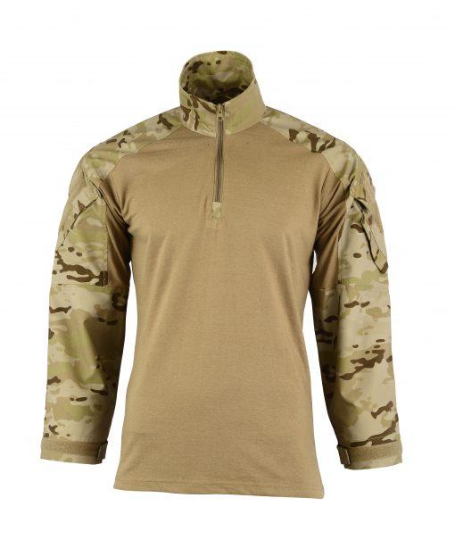 Combat Shirt Coyote Front DESERT STONE