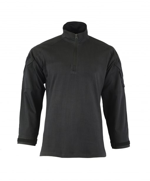 Combat Shirt Coyote Front BLACK