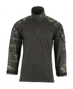 Combat Shirt Coyote Front DARKNIGHT