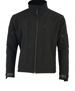 ECHO SOFT-SHELL JACKET BLACK