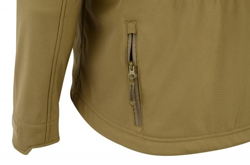 ECHO SOFT-SHELL JACKET COYOTE POCKET 2