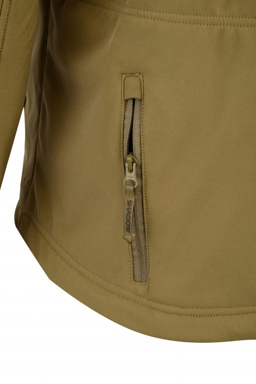 ECHO SOFT-SHELL JACKET COYOTE POCKET