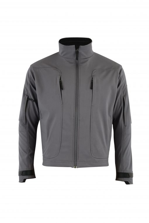 ECHO SOFT-SHELL JACKET GREY