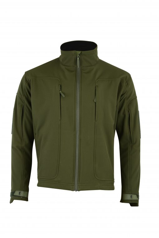 ECHO SOFT-SHELL JACKET OD GREEN