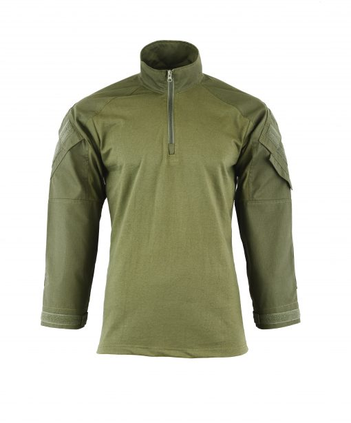 Combat Shirt Coyote Front OD