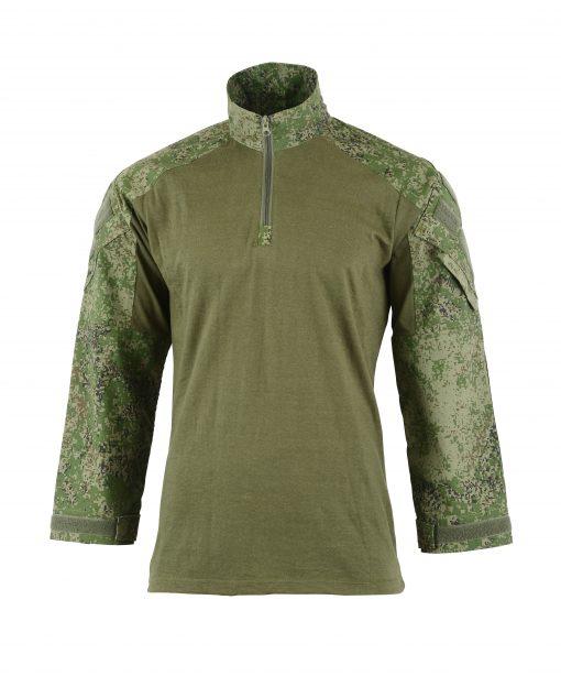 Combat Shirt Coyote Front RUSSIAN DIGITAL