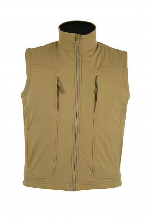 Victor Soft-Shell Wind & Water Resistant VestCOYOTE