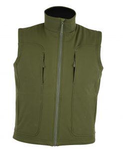 Victor Soft-Shell Wind & Water Resistant Vest OD
