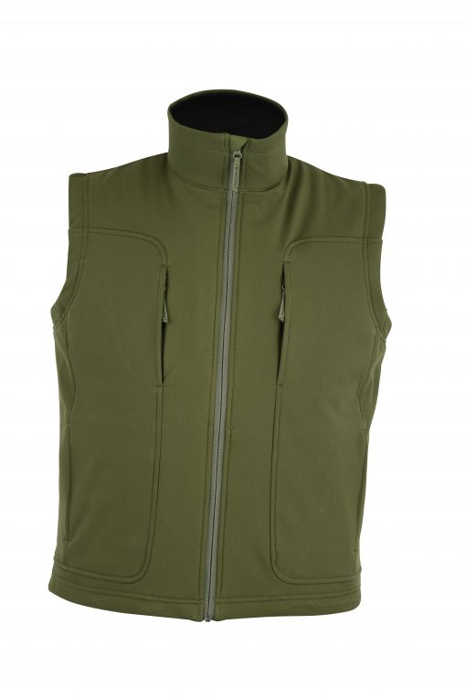 Victor Soft-Shell Wind & Water Resistant Vest OD