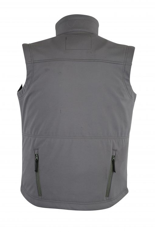 Victor Soft-Shell Wind & Water Resistant Vest REAR