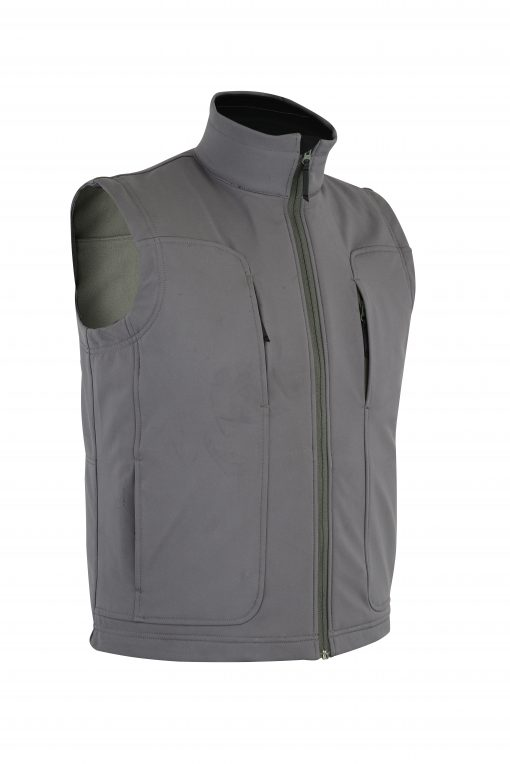 Victor Soft-Shell Wind & Water Resistant Vest SIDE