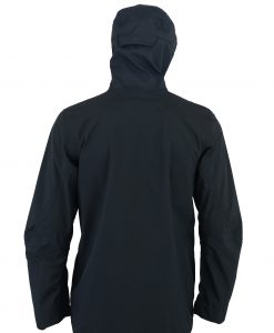 WHISKEY HARD-SHELL RAIN JACKET REAR