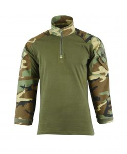 Combat Shirt Coyote Front WOODLAND