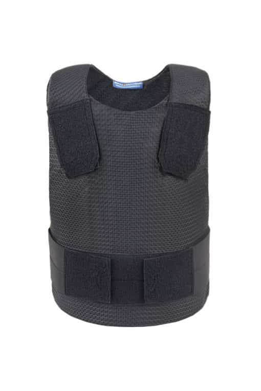 Ghost Covert Bullet and Stab Resistant Vest Black Front