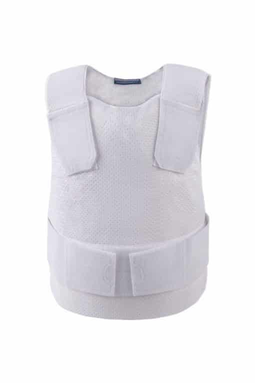 Ghost Covert Bullet and Stab Resistant Vest white front