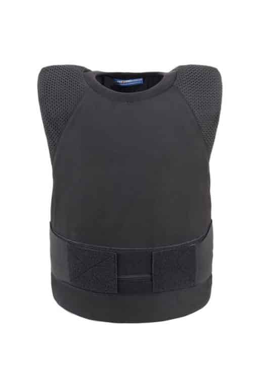 Stealth covert bullet and stab resistant vest front