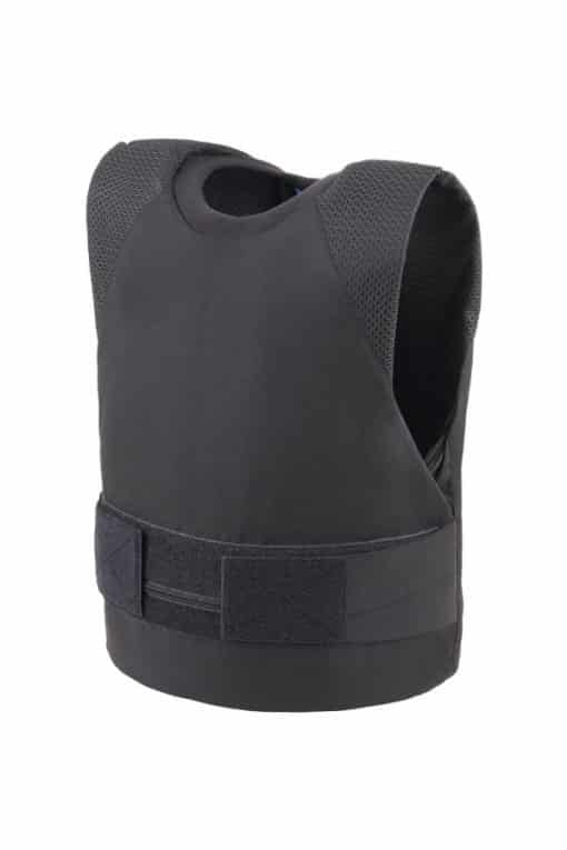 Stealth covert bullet and stab resistant vest