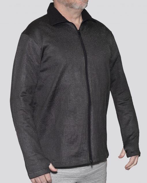 Cut-Tuff™ Cut, Slash and Bite Resistant Full-Zip Jacket Grey