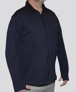 Cut-Tuff™ Cut, Slash and Bite Resistant Full-Zip Jacket Navy