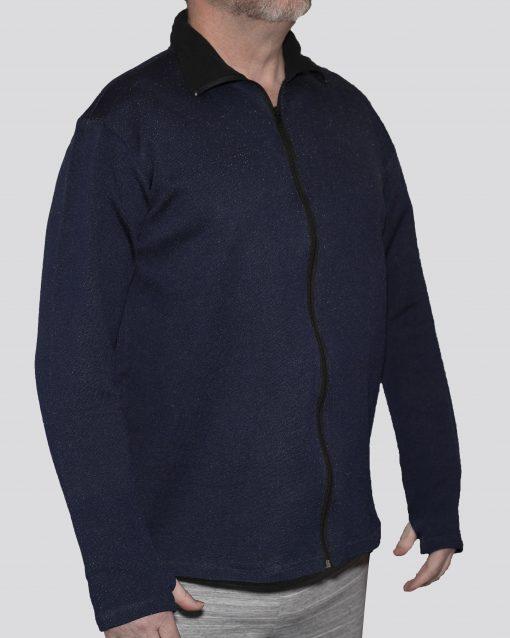 Cut-Tuff™ Cut, Slash and Bite Resistant Full-Zip Jacket Navy