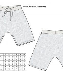 Cut-Tuff™ Cut and Slash Resistant Short Size Chart