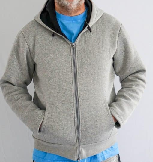 cut and bite resistant hoodie