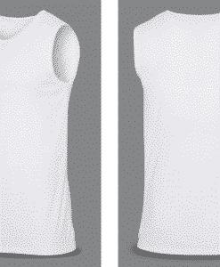 Bullet Resistant T-SHIRT white
